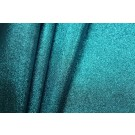 Glitter Coated Fabric - Turquoise