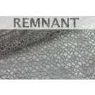 REMNANT: Guipure Lace - Dot Pattern - Silver - WHOLE PIECE 0.65m
