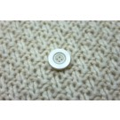 Ivory Resin Button- Extra Small