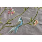 Bird Embroidery - Lilac