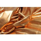 Metallic Foiled Lycra - Orange