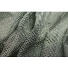 Metallic Mesh Fabric - Grey
