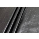 Embossed Soft Leatherette - Black Nail Head