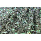 Iridescent Green Cupped Sequin on Mesh