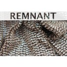 REMNANT: Small Oval Holographic Sequin On Silk Chiffon - 1.25m piece