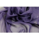 Purple Silk Chiffon