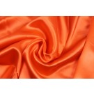Orange Silk Satin - 137cm wide