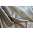 Silk Satin Backed Crepe - New Oyster