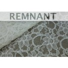 REMNANT: Corded Lace - Ivory - 1m piece