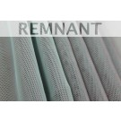 REMNANT: Sheer Airtex Mesh - Lilac/Mint - 1m piece
