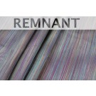 REMNANTS: Striped Silk Dupion - Multi Purples - WHOLE PIECE 1.3m