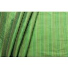 Multi Striped Silk Dupion - Green