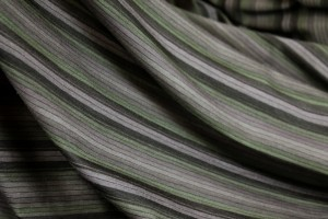 Stripe Jersey - Heather, Brown and Green