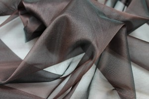Silk Organza - Chocolate Brown