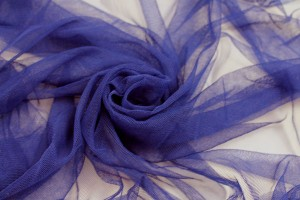 Soft Nylon Tulle - Royal Blue - T45