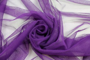 Soft Nylon Tulle - Purple - T32