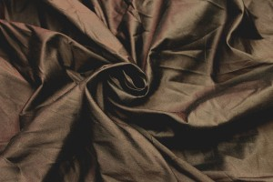 Silk Dupion - Chocolate Brown - B68