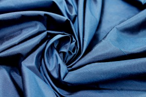 Silk Dupion - Dark Blue - B59