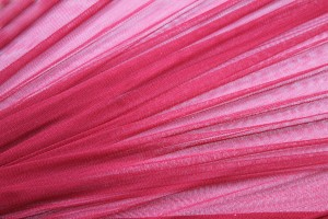 Soft Silk Tulle - Red