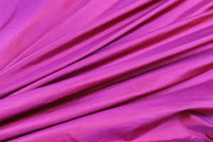 Lightweight Silk Taffeta - Red shot Pink