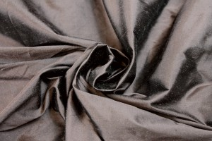 Silk Dupion - Off Brown - B80