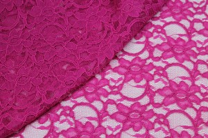 Corded Lace - Magenta