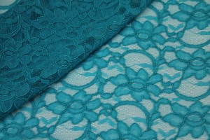 Corded Lace - Turquoise