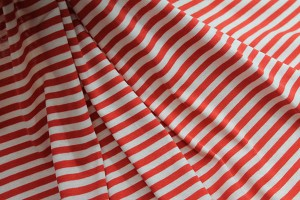 Tomato Red and Blush Stripe Jersey