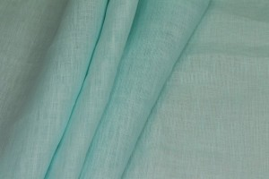 Mint Semi Sheer Linen