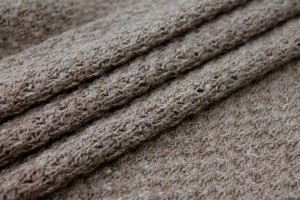 """Lace"" Wool Knit - Mottled Brown"