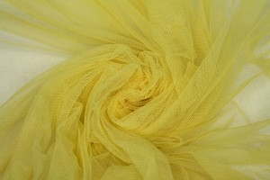 Soft Nylon Tulle - Pale Yellow - T55