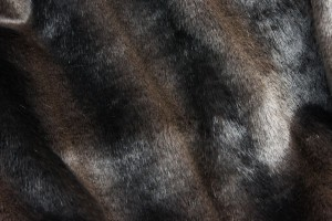 Faux Fur - Dark Brown Mink