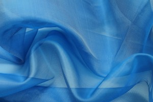 Silk Organza - Royal Blue