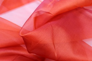 Silk Organza - Burnt Orange
