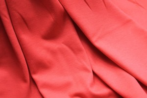 Soft Viscose Jersey - Tomato Red
