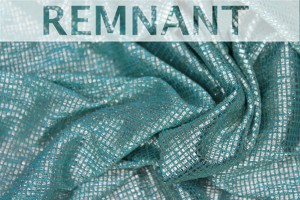 REMNANT - Sheer Shimmer Jersey - Mint Gold - 2m piece