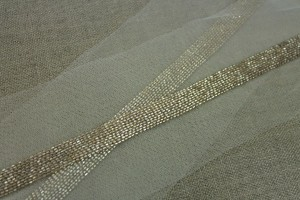 Beaded Micro Trim - Gold - Wide
