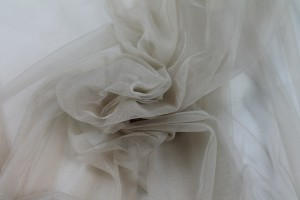 Soft Nylon Tulle - Oyster - T6