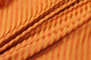Striped Silk - Orange