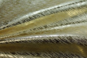 Leatherette - Metallic Textured Gold