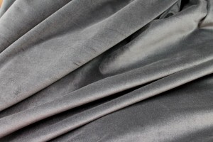 Cotton Velvet - Dark Grey
