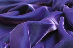 Viscose Velvet - Purple