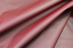 Airtex Bonded Nylon - Red / Grey