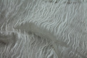 Distressed Silk Cotton - Ivory