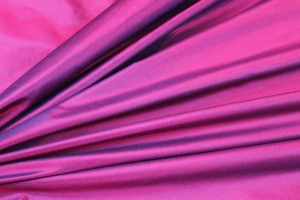 Lightweight Silk Taffeta - Purple shot Pink