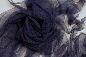 Soft Nylon Tulle - Navy - T19