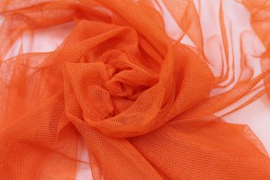 Soft Nylon Tulle - Orange - T27