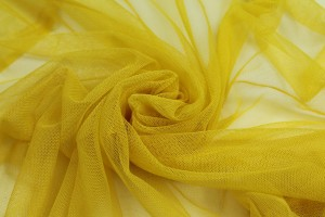 Soft Nylon Tulle - Yellow - T26
