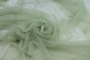 Soft Nylon Tulle - Apple - T24