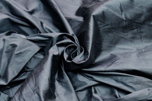 Silk Dupion - Dark Grey - B71